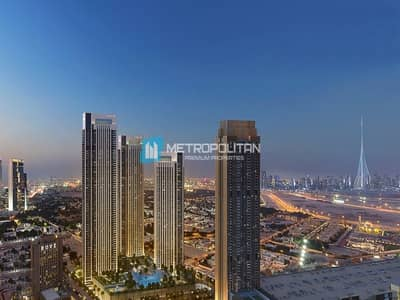 2 Bedroom Flat for Sale in Downtown Dubai, Dubai - Resale| Rare post payment plan | On middle floor
