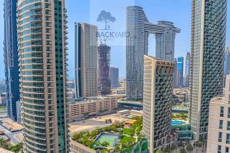 فلیٹ 2 غرفة نوم للايجار في وسط مدينة دبي، دبي - 2BR | Pool View | Chiller Free | StandPoint