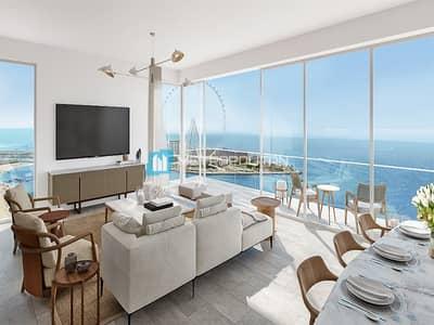 فلیٹ 1 غرفة نوم للبيع في جميرا بيتش ريزيدنس، دبي - Resale Unit I High in Demand I JBR View