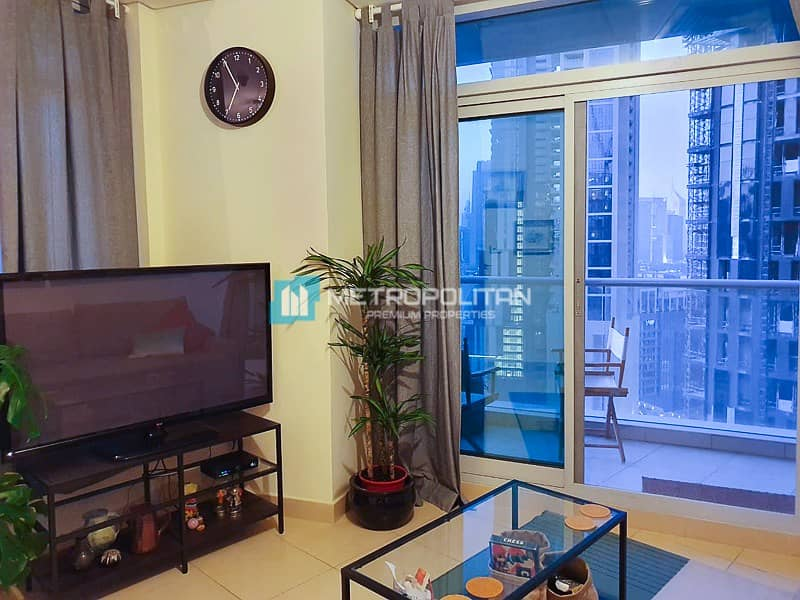 2 Rented until July | High floor | Full Burj view