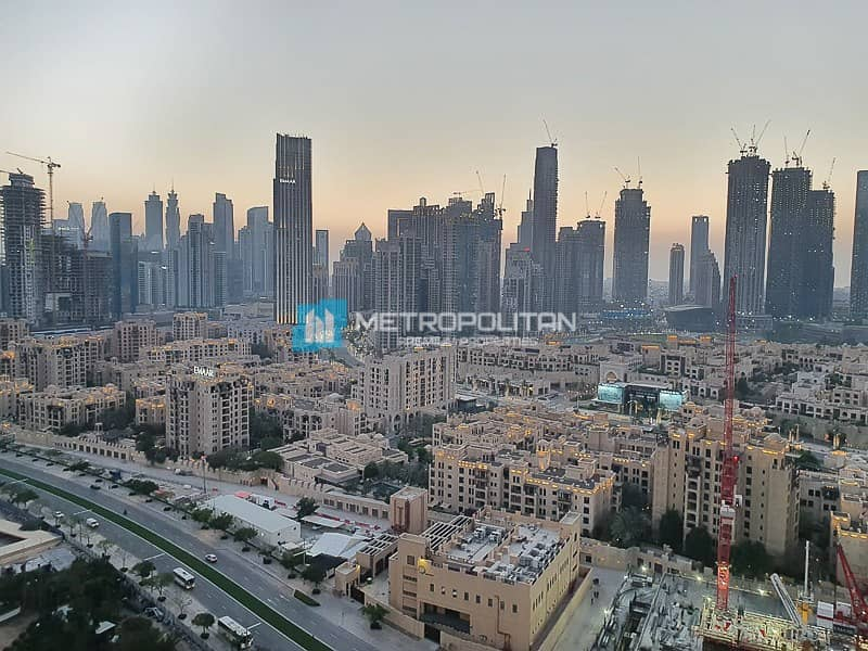 15 Rented until July | High floor | Full Burj view