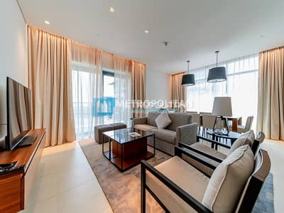 3 Bedroom Flat for Sale in The Hills, Dubai - Fully Furnished I Vida Res B I Golf course View