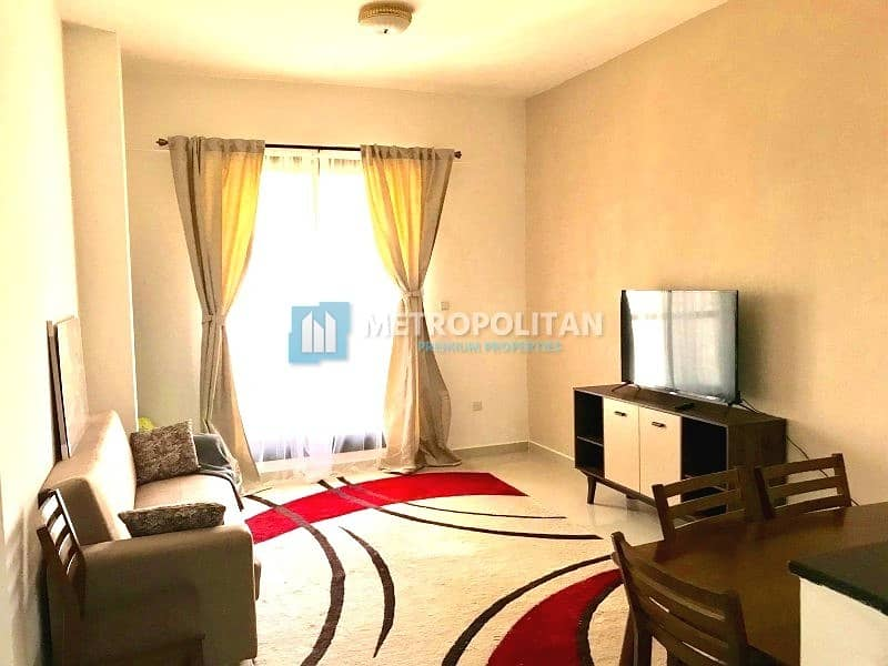 Fully Furnished & Equipped Brand New 1BR For sale