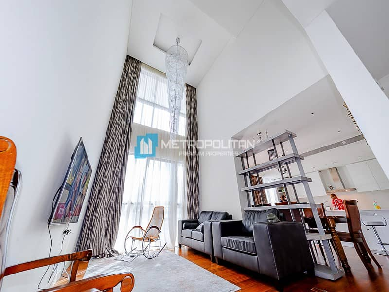 2 Fully Furnished 4 beds Duplex | Burj Khalifa View