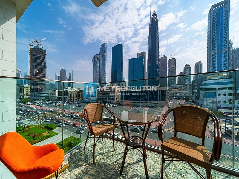 15 Fully Furnished 4 beds Duplex | Burj Khalifa View