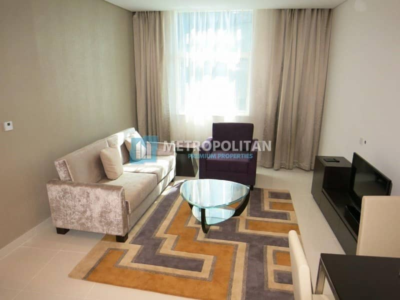 Fully Furnished 1 bedroom apartment For Sale 805K