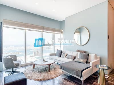 2 Bedroom Flat for Sale in Dubai Marina, Dubai - High Floor 2 Beds w/ full sea view fully furnished