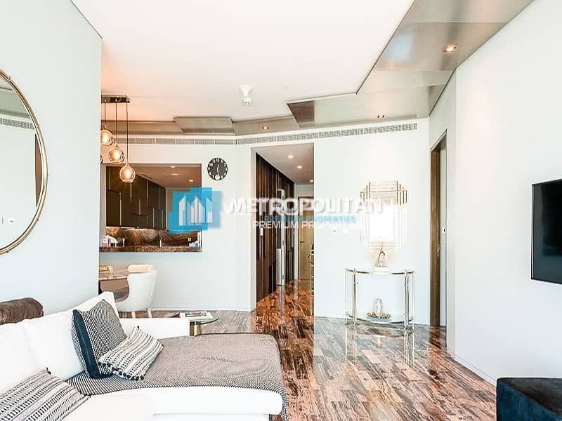 2 High Floor 2 Beds w/ full sea view fully furnished