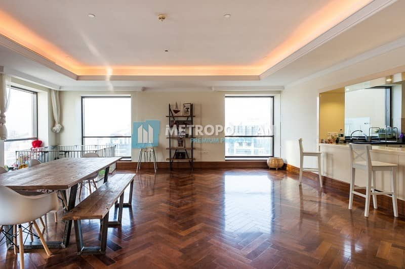 2 Luxurious 4 BR Penthouse With Panoramic Sea View