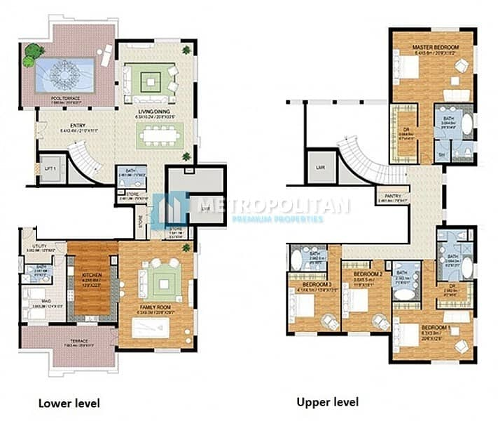 13 Luxurious 4 BR Penthouse With Panoramic Sea View