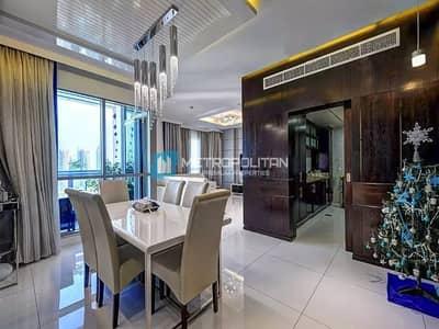 فلیٹ 3 غرف نوم للايجار في وسط مدينة دبي، دبي - Beautifully Furnished 3 BR + Maids   Free Chiller