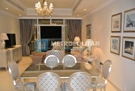 2 Bedroom Apartment for Sale in Palm Jumeirah, Dubai - Exclusive Furnished 2 BR with Garden View