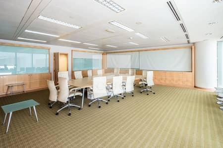 Fitted and furnished office | On High Floor