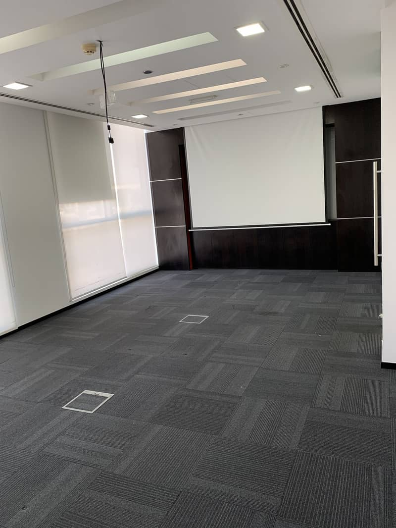 Office space available in a well located and highly visible 2 storey building on SZR.  Partitioned and semi-fitted office.   Ready to move in, including 17 basement Parking slots.