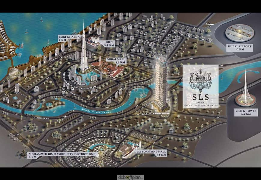 29 First Time in DUBAI Tallest Luxurious Project by SLS!! 1BR Duplexes Fully Furnished I 7 Yrs Payment Plan l CALL NOW!