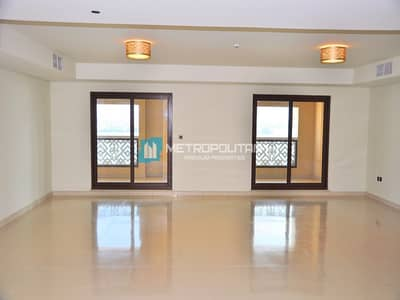 شقة 4 غرف نوم للايجار في نخلة جميرا، دبي - Space Galore 4 bedrooms sea view unit