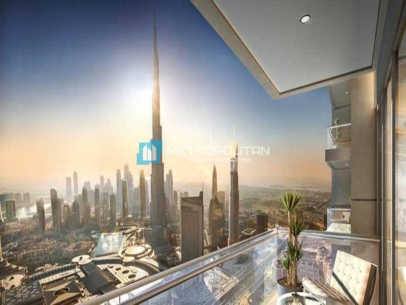 Corner Unit with an Amazing View of Burj Khalifa