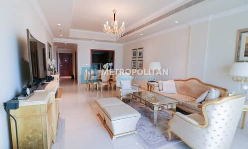 2 Bedroom Flat for Sale in Palm Jumeirah, Dubai - Sea View | Furnished by Francesco Molon | Vacant