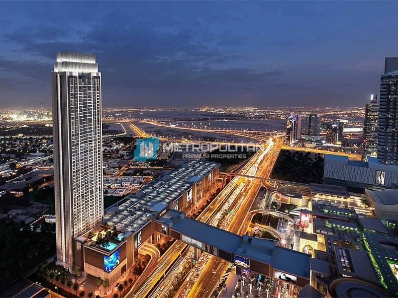 10 Corner Unit with an Amazing View of Burj Khalifa