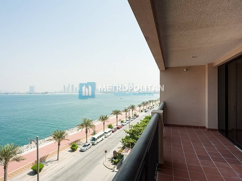 15 Fully Furnished 1 bedroom I Amazing Full Sea view