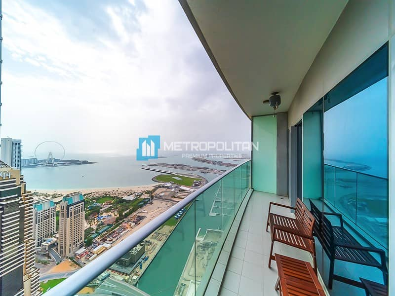 Unobstructed sea view I Fully furnished I Ready