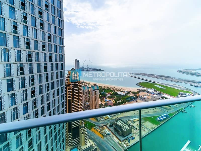 18 Unobstructed sea view I Fully furnished I Ready