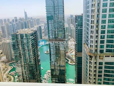 3 Bedroom Apartment for Rent in Dubai Marina, Dubai - Fully Furnished/Marina and sea View/High Floor