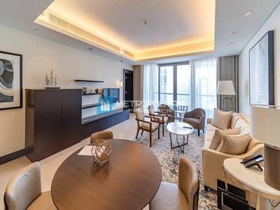 فلیٹ 1 غرفة نوم للايجار في وسط مدينة دبي، دبي - All bills paid | Mid Floor| Available End April