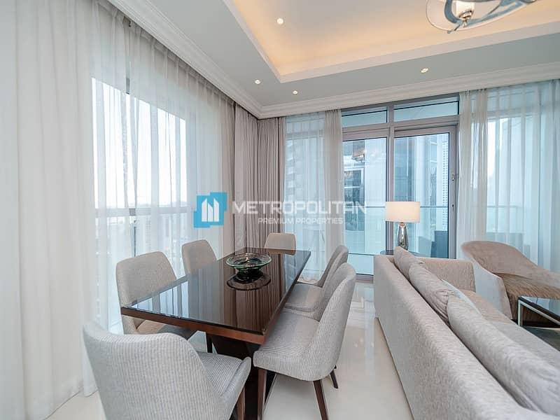 Luxurious 2 Bedrooms w/ Full Burj & Fountain Views
