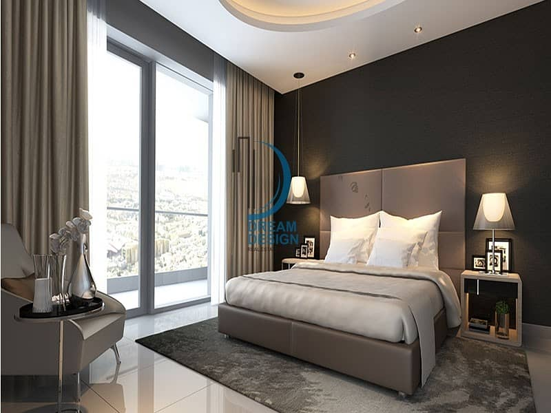 2  2 & 3 BR Furnished Apartments At Damac Tower