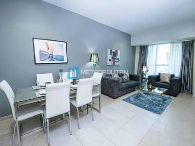 شقة 1 غرفة نوم للبيع في دبي مارينا، دبي - Large Layout Middle Floor