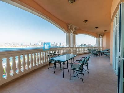 3 Bedroom Flat for Sale in Palm Jumeirah, Dubai - Top Floor I Motivated Seller |View to Dubai Marina
