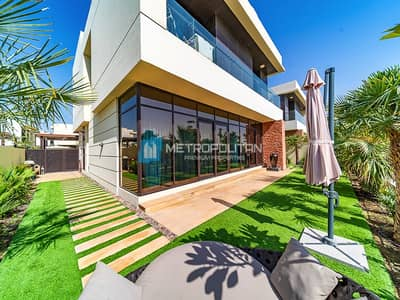 5 Bedroom Villa for Sale in DAMAC Hills (Akoya by DAMAC), Dubai - Upgraded V4 Type | Backs onto Park and Golf Course