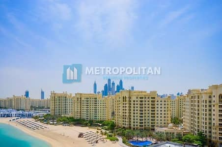 3 Bedroom Flat for Sale in Palm Jumeirah, Dubai - Fully Furnished 3 BR Apartment | Sea View | Vacant