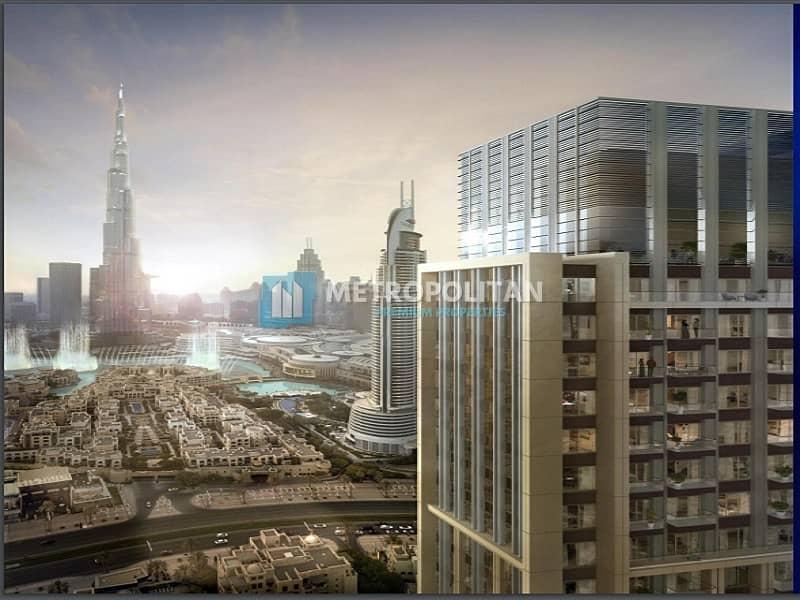 Resale I Genuine listing I High Floor I Burj View