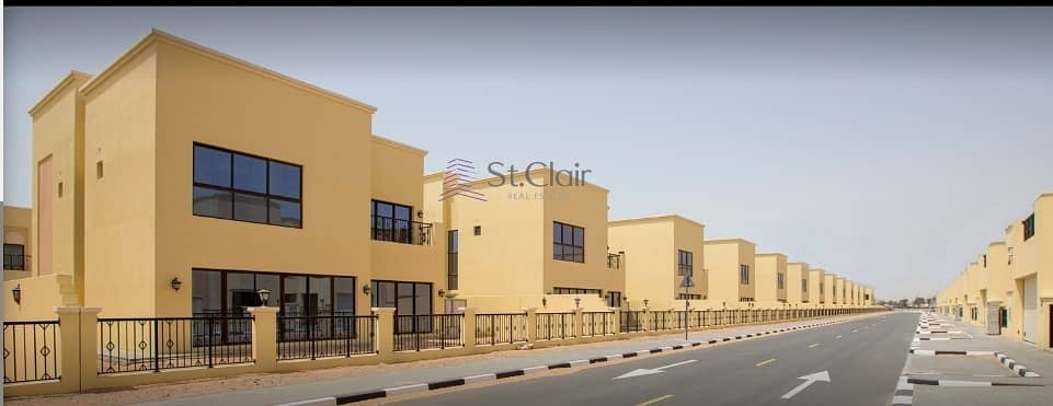 2 BRAND NEW | 4 Bed + Maid Room Villa | 1 Month Free |  Limited Time Offer