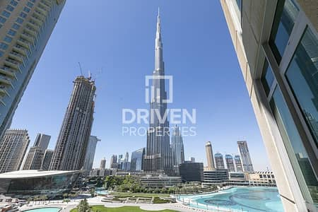 2 Bedroom Apartment for Rent in Downtown Dubai, Dubai - Furnished Unit with Amazing Fountain Views