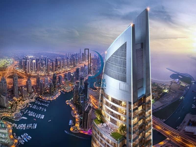 Damac Heights | Full Marina View | Rare Unit