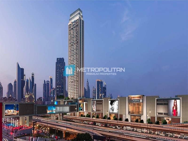 Full Burj & fountian Views I High floor I Resale