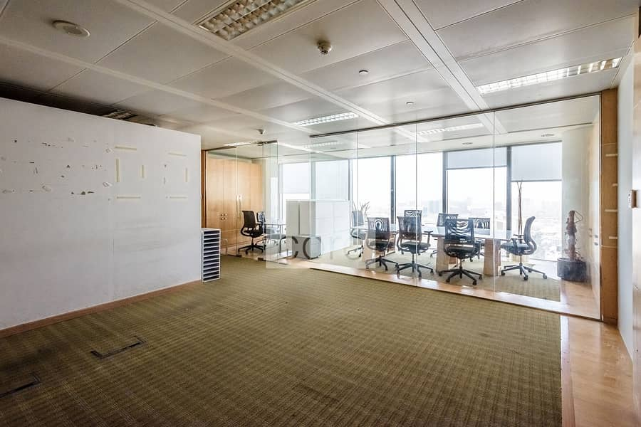 2 Fitted | Open Plan Office | High Floor