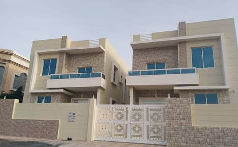 5 Bedroom Villa for Rent in Al Mowaihat, Ajman - The first inhabitant of a very elegant European design
