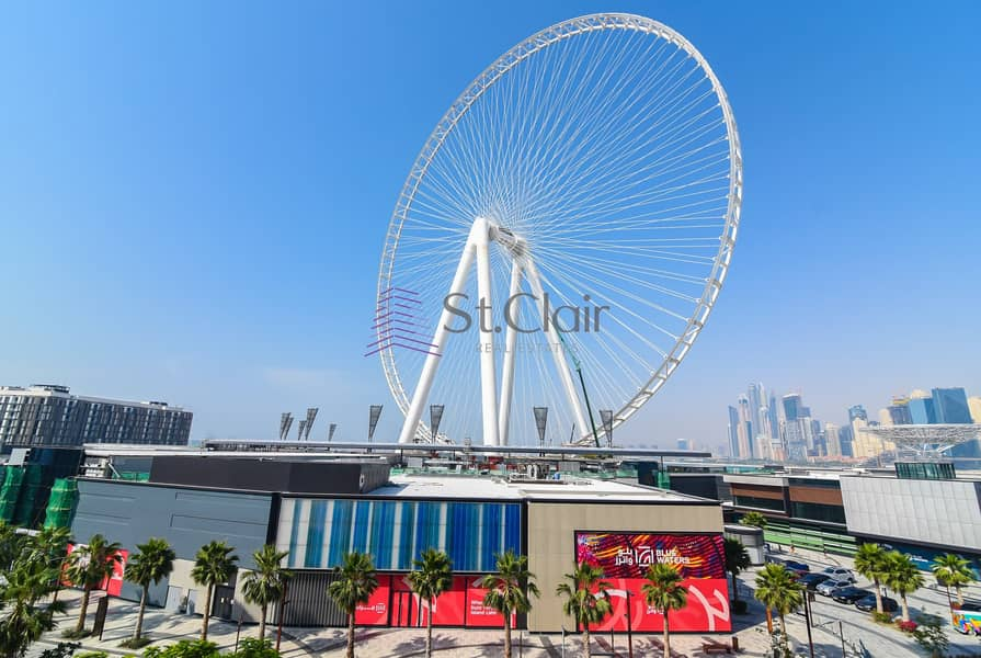 2 2 BR Sea and Dubai Eye View BW Building 8