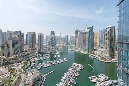 3 Bedroom Apartment for Rent in Dubai Marina, Dubai - Coming Up Soon | High Floor Unit | Large Layout