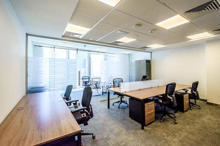 Office for Rent in DIFC, Dubai - Mid Floor | Premium Fitted Office