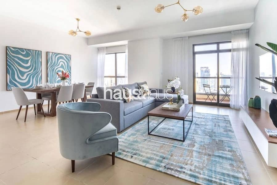 Fully Furnished | Vacant On Transfer | High Floor