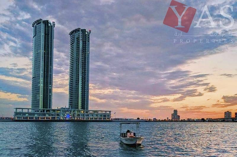 Stunning | 1BR | Sea view | For Sale in Julphar Tower