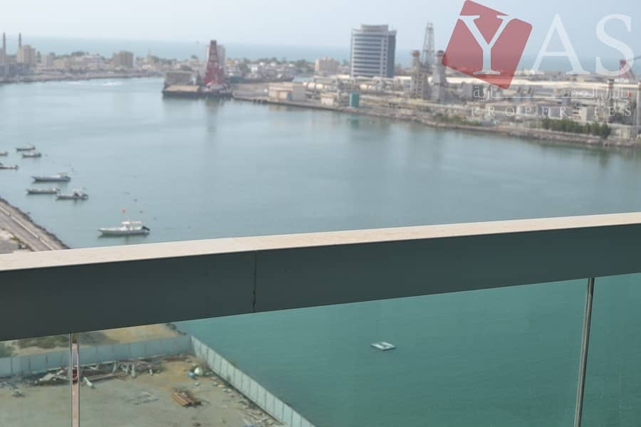 10 Furnished Full Sea View 1 Bedroom Apartment
