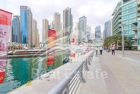 محل تجاري  للايجار في دبي مارينا، دبي - Marina Walk Prime Spot Next to Pier 7   Shisha