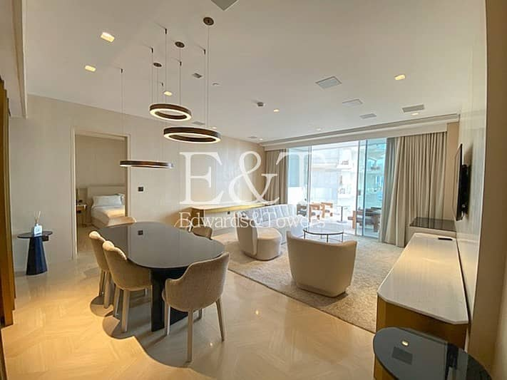2 Exclusive | Full Dubai Eye View | Fully Furnished