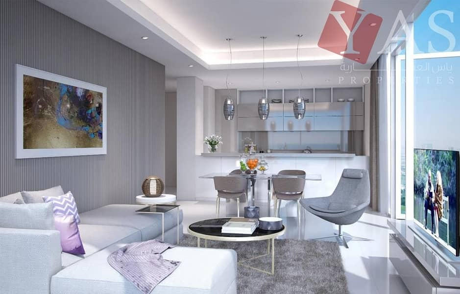 2 1 Bedroom Luxury Apartments for Sale Up to 7 Years Payment plan